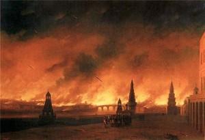 крупные пожары