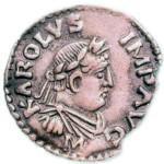 Карл Великий - император портрет