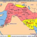 Ассирия - древнее государство карта