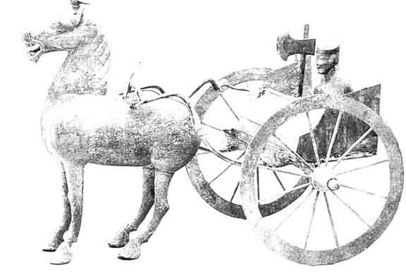 Древнекитайские царства. Организация войск.