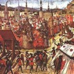 Второй, третий и четвёртый крестовые походы.
