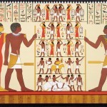 Письменность и язык в Древнем Египте.