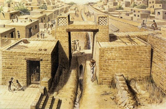 Индская цивилизация. Крушение империи.