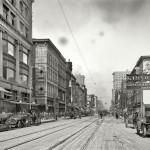 США в начале 19 века. Мегаполисы.
