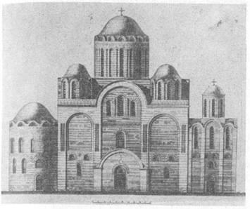 Архитектура Византии 11 века.