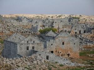 Византийская деревня. Раскопки Византии.