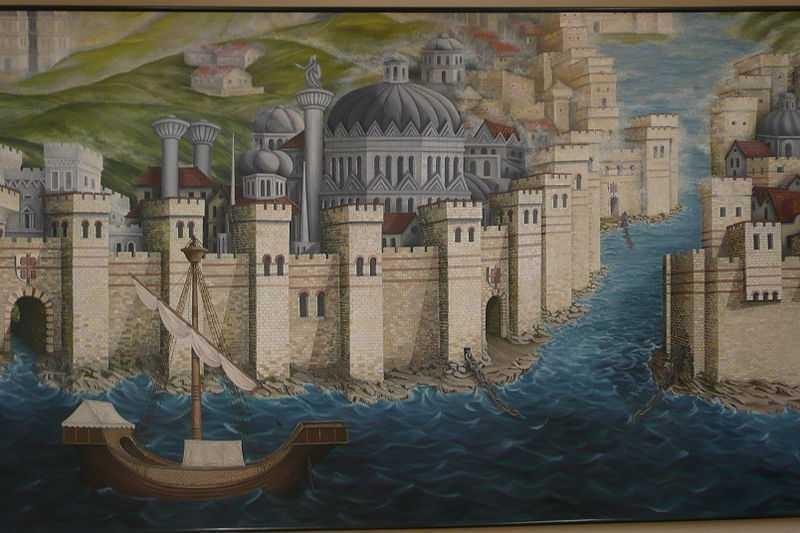 город Константинополь