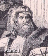 Аларих Вестгот покорил Рим