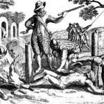 образование колоний европейцами. Прежде всего испанцами и португальцами. Завоевателями двигала жажда золота.