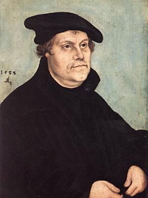 Мартин Лютер портрет