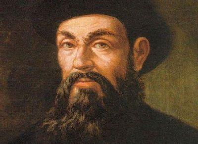Ф. Магелан - великий мореплаватель и путешественник. Первым обогнул Землю.