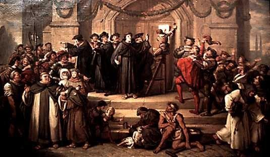 Рефомация началась В Германии. Так как в Германиии духовеству принадлежало много земель.