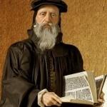 Кальвин -вождь реформации.