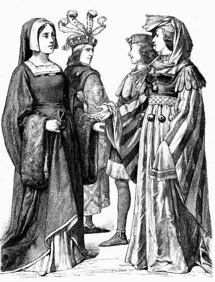 Экономическое состояние Франции в 15 веке.