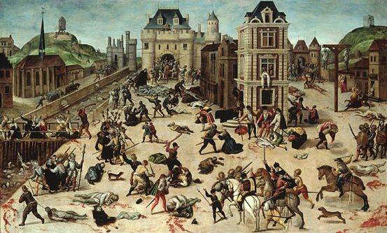 Религиозные войны в Франции. Как они проходили, кто участвовал.