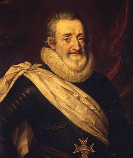 король франции Генрих 4 - в его правление происходит укрепление абсолютизма в государстве.