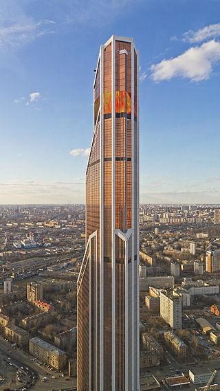 самое высокое здание в России