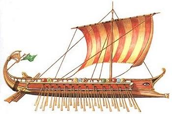 Древнегреческие судна. Как развивалось судостроение в Древней Греции, а именно в Афинах.