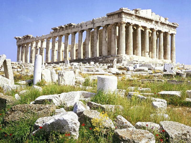 Афины - центр ремёсленного производства.