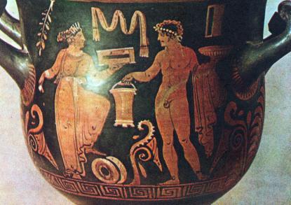 Керамическое производство. Как оно было осуществлено. Кем влялись греческие мастера.
