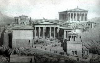 Строительные работы в Древней Греции