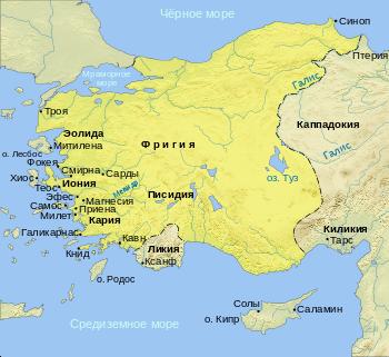 Поход Кира. Столкновение интересов Спарты и Персии