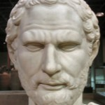 портрет Демосфена