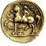Филипп 2 Тетрадрахма