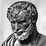 Философ Гераклит портрет