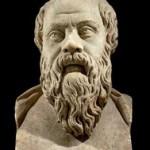 Философ Демокрит портрет