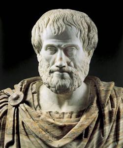 Аристотель - древнегреческий философ. Портрет Аристотеля.