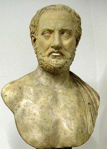 Портрет Фукидида - греческого историка