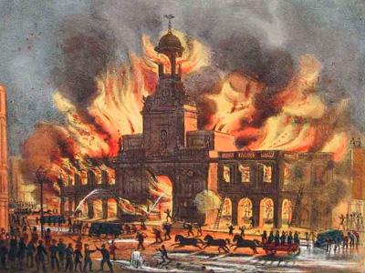 Последствия Великого Лондонского пожара