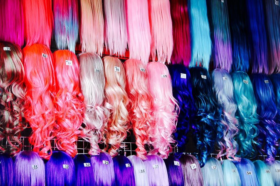 Красочные парики. Для женщин. На каждый день или на вечеринку.