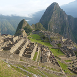 Разрушенный город в Перу