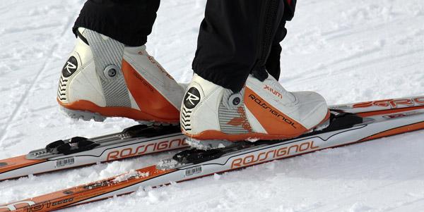 Беговые лыжи. История.