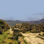 Гибель городов: Геркуланум и Помпеи.
